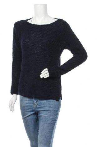 Дамски пуловер Manoukian, Размер M, Цвят Син, 70% акрил, 30% вълна, Цена 66,72лв.