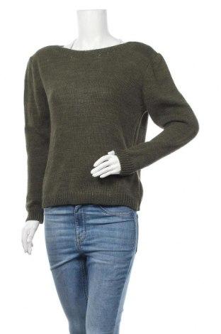 Дамски пуловер Manoukian, Размер M, Цвят Зелен, 85% акрил, 15% вълна, Цена 66,72лв.