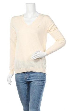 Дамски пуловер Polo Club, Размер M, Цвят Екрю, Памук, Цена 33,12лв.