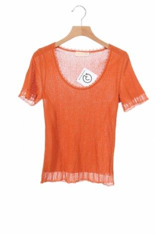Дамски пуловер St.Emile, Размер XS, Цвят Оранжев, Цена 11,55лв.