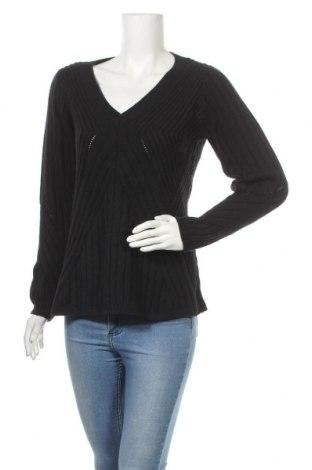Дамски пуловер Zapa, Размер M, Цвят Черен, 50% вълна, 50% полиамид, Цена 110,16лв.