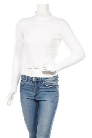 Дамски пуловер Zara, Размер S, Цвят Бял, 86% полиамид, 9% вискоза, 5% полиестер, Цена 25,50лв.