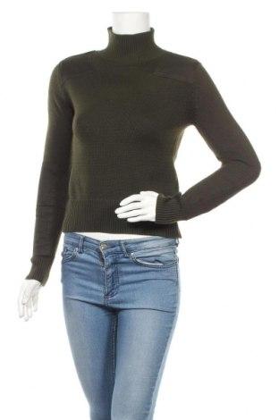 Γυναικείο πουλόβερ Zara Knitwear, Μέγεθος S, Χρώμα Πράσινο, Τιμή 13,64€