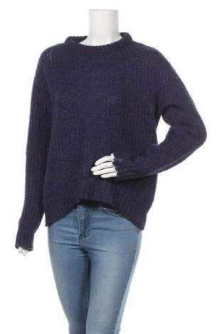 Γυναικείο πουλόβερ Zara Knitwear, Μέγεθος M, Χρώμα Μπλέ, 23%ακρυλικό, 22% πολυαμίδη, 20% μαλλί, 20% μοχαίρ, 15% βισκόζη, Τιμή 14,81€