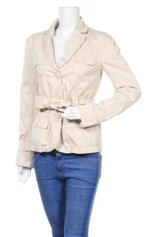 Дамски шлифер Amisu, Размер S, Цвят Бежов, 98% памук, 2% еластан, Цена 20,32лв.
