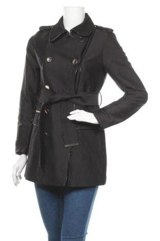 Дамски шлифер Morgan De Toi, Размер S, Цвят Черен, 48% полиестер, 46% памук, 6% полиамид, Цена 55,60лв.