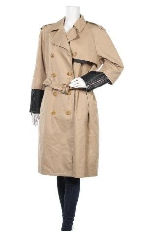 Дамски шлифер Neil Barrett, Размер M, Цвят Бежов, 65% полиестер, 35% памук, Цена 1412,95лв.