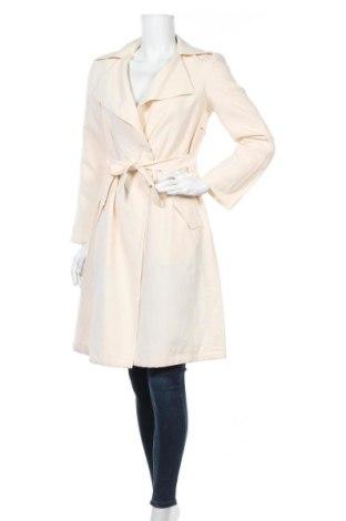 Дамски шлифер Sisley, Размер S, Цвят Екрю, 50% лиосел, 35% лен, 15% полиестер, Цена 89,25лв.