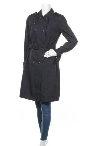 Γυναικεία καμπαρντίνα Soya Concept, Μέγεθος S, Χρώμα Μπλέ, 65% βαμβάκι, 35% πολυεστέρας, Τιμή 33,74€