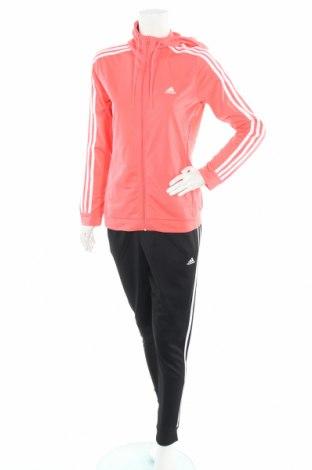 Γυναικείο αθλητικό σετ Adidas, Μέγεθος M, Χρώμα Ρόζ , Πολυεστέρας, Τιμή 48,72€