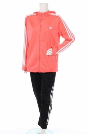 Дамски спортен комплект Adidas, Размер XXL, Цвят Розов, Полиестер, Цена 103,95лв.