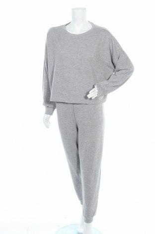 Дамски спортен комплект Anna Field, Размер L, Цвят Сив, 100% памук, Цена 59,25лв.
