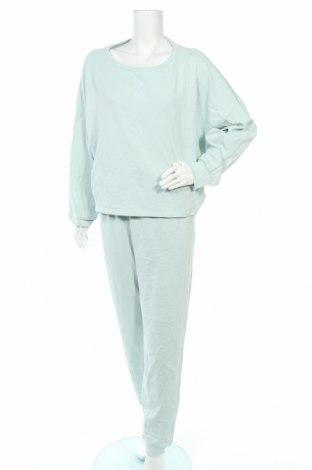 Дамски спортен комплект Anna Field, Размер XL, Цвят Син, 100% памук, Цена 47,40лв.