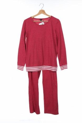 Дамски спортен комплект Arizona, Размер XXS, Цвят Червен, 60% памук, 40% полиестер, Цена 34,22лв.