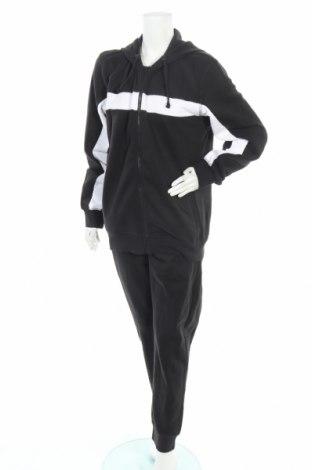 Γυναικείο αθλητικό σετ Diadora, Μέγεθος XL, Χρώμα Γκρί, 80% βαμβάκι, 20% πολυεστέρας, Τιμή 42,14€