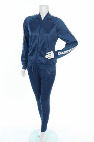 Дамски спортен комплект Diadora, Размер S, Цвят Син, Полиестер, Цена 65,45лв.