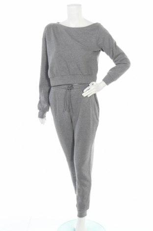 Дамски спортен комплект Even&Odd, Размер M, Цвят Сив, 60% памук, 40% полиестер, Цена 47,40лв.
