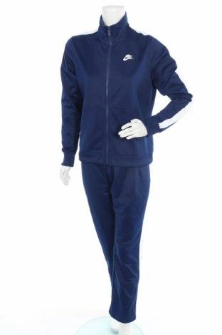 Γυναικείο αθλητικό σετ Nike, Μέγεθος L, Χρώμα Μπλέ, Πολυεστέρας, Τιμή 51,83€