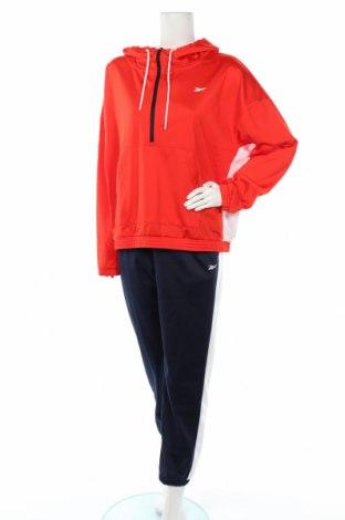 Дамски спортен комплект Reebok, Размер XL, Цвят Червен, Полиестер, Цена 86,87лв.