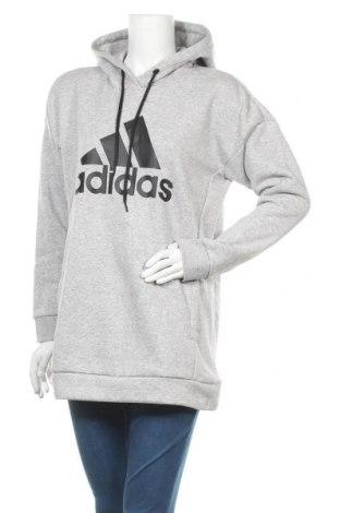Γυναικείο φούτερ Adidas, Μέγεθος M, Χρώμα Γκρί, 77% βαμβάκι, 23% πολυεστέρας, Τιμή 42,14€