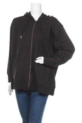 Дамски суичър Bench, Размер 3XL, Цвят Черен, 60% памук, 40% полиестер, Цена 37,92лв.