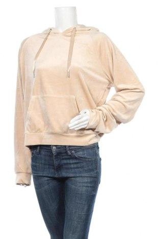 Дамски суичър Gina Tricot, Размер XL, Цвят Бежов, 95% полиестер, 5% еластан, Цена 34,22лв.