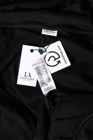 Γυναικείο φούτερ Lascana, Μέγεθος M, Χρώμα Μαύρο, Βαμβάκι, Τιμή 23,62€