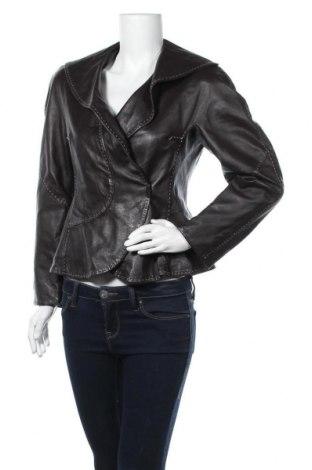 Дамско кожено яке Betty Barclay, Размер M, Цвят Червен, Естествена кожа, Цена 70,56лв.