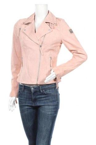 Γυναικείο δερμάτινο μπουφάν Freaky Nation, Μέγεθος M, Χρώμα Ρόζ , Γνήσιο δέρμα, Τιμή 161,99€