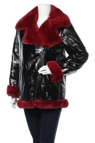 Γυναικείο δερμάτινο μπουφάν Lola Casademunt, Μέγεθος L, Χρώμα Μαύρο, Δερματίνη, Τιμή 70,13€