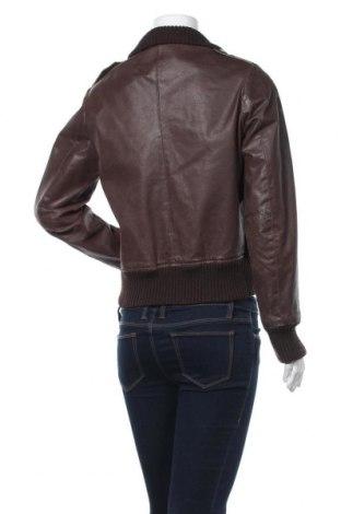 Дамско кожено яке Madonna, Размер M, Цвят Кафяв, Естествена кожа, Цена 23,36лв.