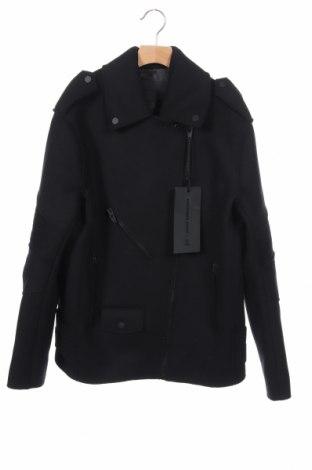 Дамско палто Alexander Wang For H&M, Размер XS, Цвят Черен, 68% вълна, 32% полиамид, Цена 200,34лв.
