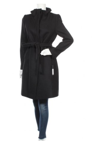 Дамско палто Drykorn for beautiful people, Размер M, Цвят Черен, Вълна, полиамид, Цена 297,12лв.