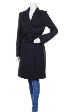 Дамско палто Filippa K, Размер M, Цвят Син, 72% вълна, 25% полиамид, 3% кашмир, Цена 297,12лв.