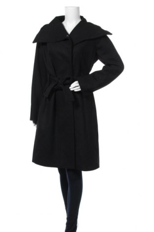 Дамско палто In Wear, Размер L, Цвят Черен, 52% вълна, 34% полиестер, 9% акрил, 4% полиамид, 1% вискоза, Цена 246,75лв.