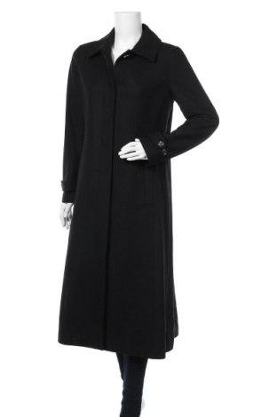 Дамско палто In Wear, Размер S, Цвят Черен, 52% вълна, 34% полиестер, 4% полиамид, 1% вискоза, Цена 174,37лв.