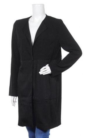 Дамско палто Lawrence Grey, Размер S, Цвят Черен, 95% полиестер, 5% еластан, Цена 128,52лв.
