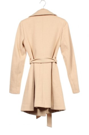 Дамско палто Miss Selfridge, Размер XS, Цвят Бежов, Полиестер, Цена 91,50лв.