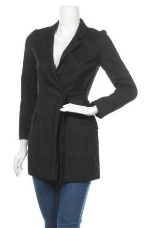 Дамско палто Monki, Размер XXS, Цвят Черен, 68% полиестер, 30% вискоза, 2% еластан, Цена 31,60лв.