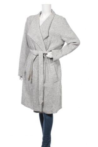 Дамско палто S.Oliver, Размер L, Цвят Сив, 60% вискоза, 40% вълна, Цена 189,00лв.