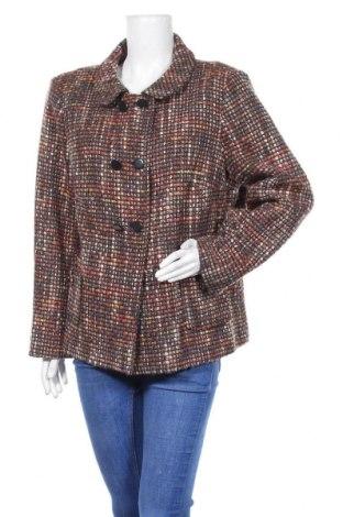 Дамско палто Un Jour Ailleurs, Размер XL, Цвят Многоцветен, 50% вълна, 40% полиестер, 10% полиамид, Цена 46,00лв.