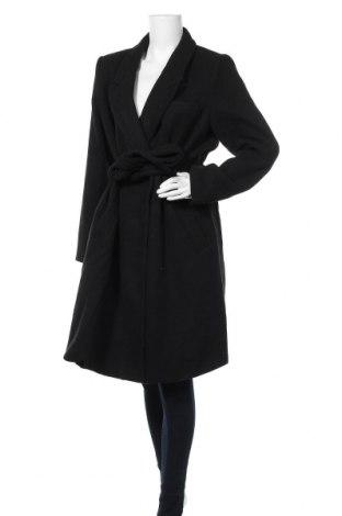 Γυναικείο παλτό Vero Moda, Μέγεθος XL, Χρώμα Μαύρο, 89% πολυεστέρας, 10% βισκόζη, 1% ελαστάνη, Τιμή 36,19€