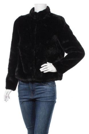 Дамско палто Vero Moda, Размер M, Цвят Черен, Полиестер, Цена 51,75лв.
