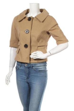 Дамско палто Zara, Размер L, Цвят Бежов, Цена 29,90лв.