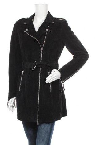 Γυναικείο δερμάτινο μπουφάν Freaky Nation, Μέγεθος L, Χρώμα Μαύρο, Γνήσιο δέρμα, Τιμή 110,29€