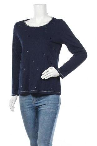 Дамска блуза Chico's, Размер M, Цвят Син, 60% памук, 40% модал, Цена 47,25лв.