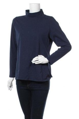 Дамско полo Collection L, Размер XL, Цвят Син, 92% памук, 8% еластан, Цена 16,07лв.