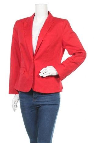 Dámské sako  Calvin Klein, Velikost L, Barva Červená, 63% bavlna, 34% polyester, 3% elastan, Cena  804,00Kč