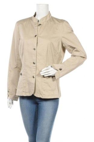 Дамско сако Green House, Размер M, Цвят Бежов, 100% памук, Цена 26,46лв.