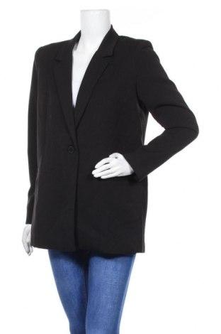Дамско сако Minimum, Размер M, Цвят Черен, 60% полиестер, 35% вискоза, 5% еластан, Цена 128,52лв.